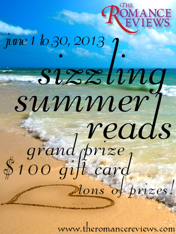 The Romance Reviews' Sizzling Summer Reads Party in June!